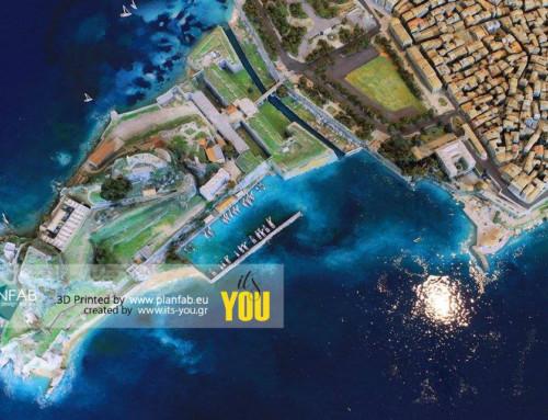 WE 3D PRINTED CORFU ISLAND